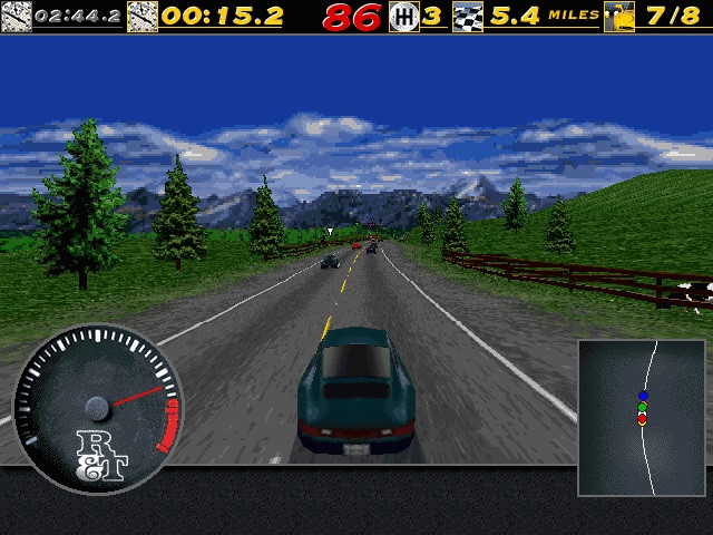 Need for Speed 1 Cheats on the PC 0